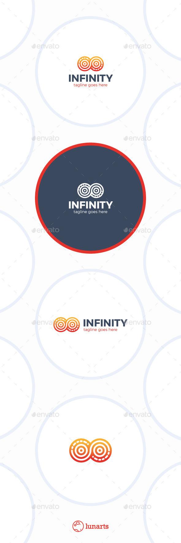 Infinity Circle Logo - Abstract Logo Templates