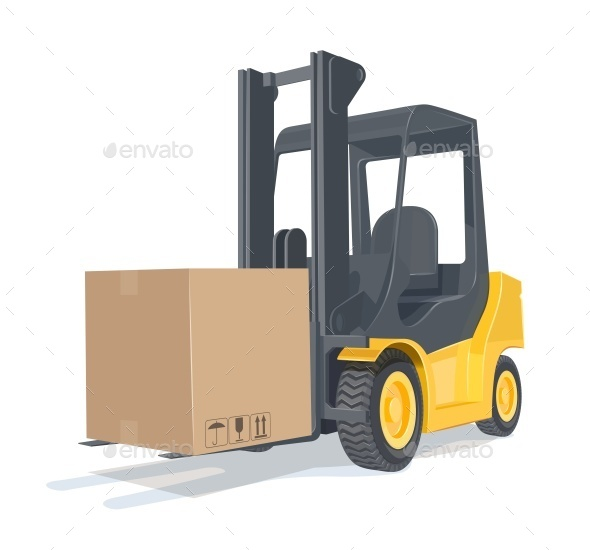Loader Car with Box - Industries Business