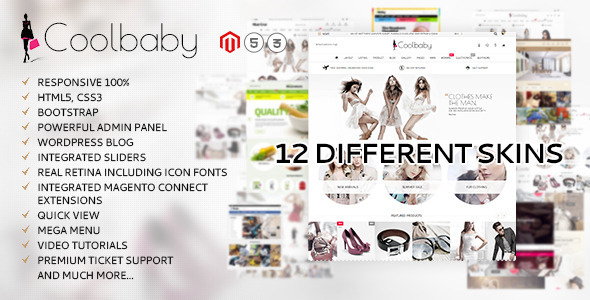 Coolbaby – original Magento theme