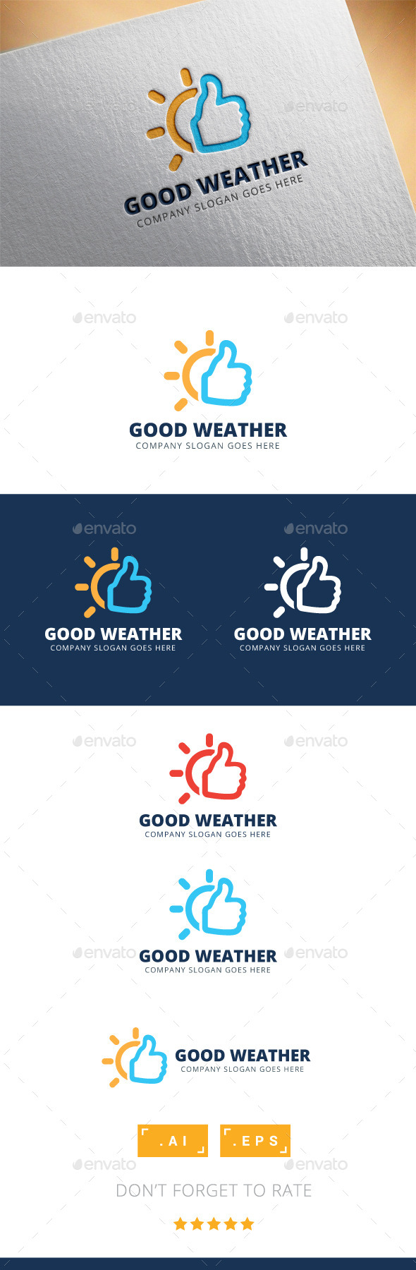 Good Weather Logo - Logo Templates