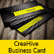 CreaHive Business Card four colors - GraphicRiver Item for Sale