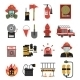 Fire Icon Flat - GraphicRiver Item for Sale