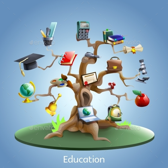 Education Tree Concept - Miscellaneous Conceptual