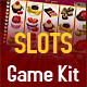 Gold and Chocolate Slot Game Kit - GraphicRiver Item for Sale