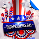 Independence Day - July 4 Vol 2 Flyer Template