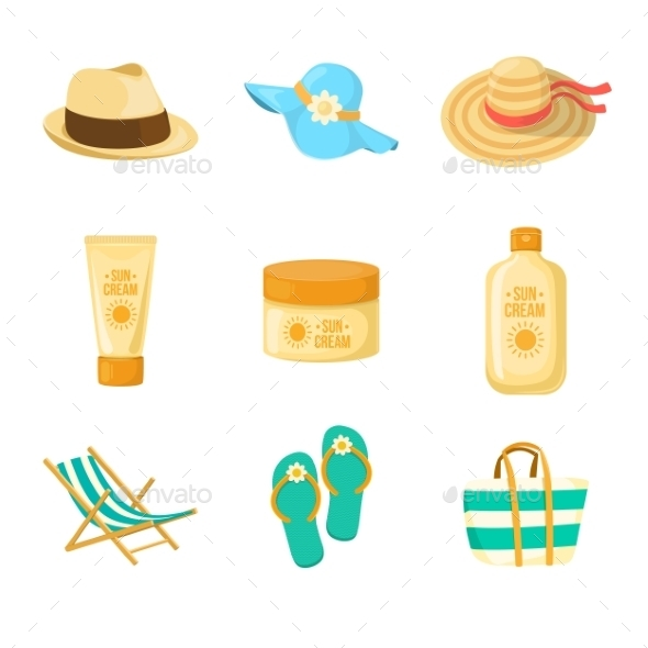 Sun Creams and Beach Accessories - Seasons Nature