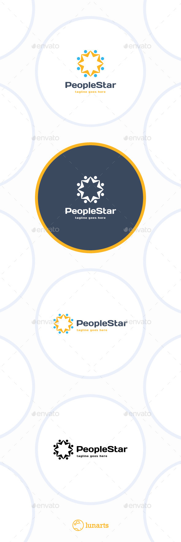 Star Community Logo - Abstract Logo Templates