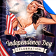 Independence Day - July 4 Vol 3 Flyer Template