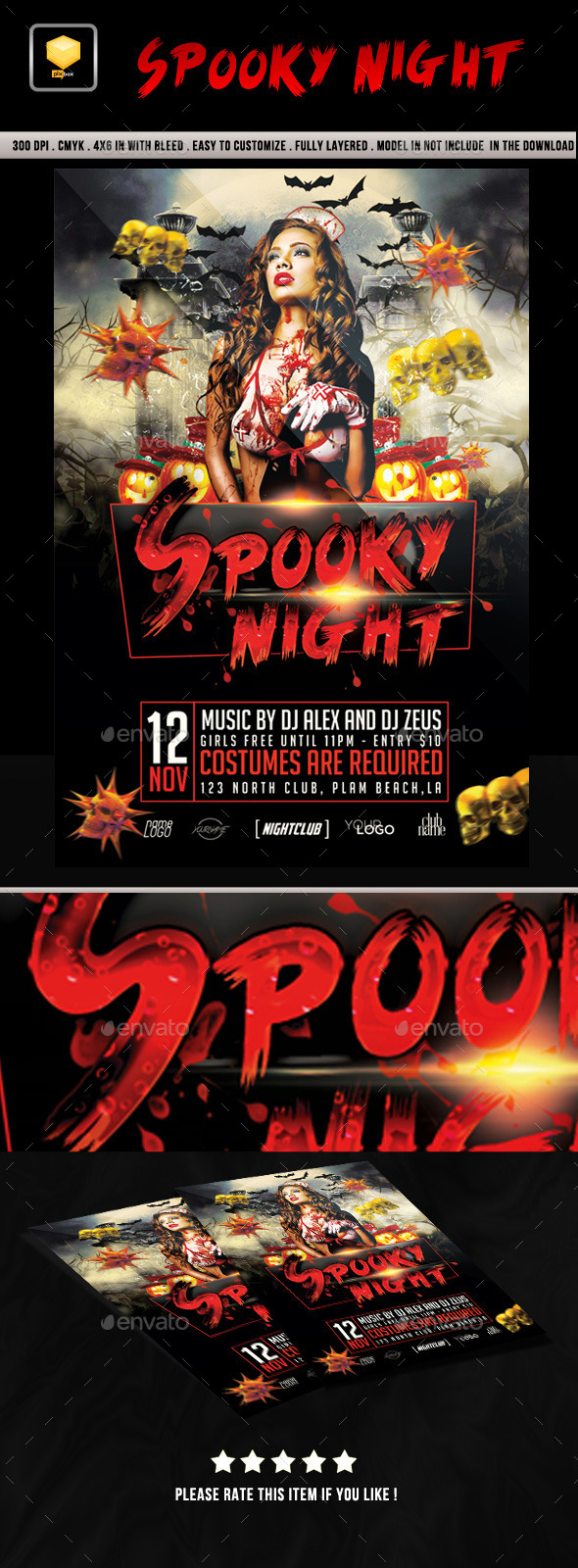 Spooky Night Party - Clubs & Parties Events