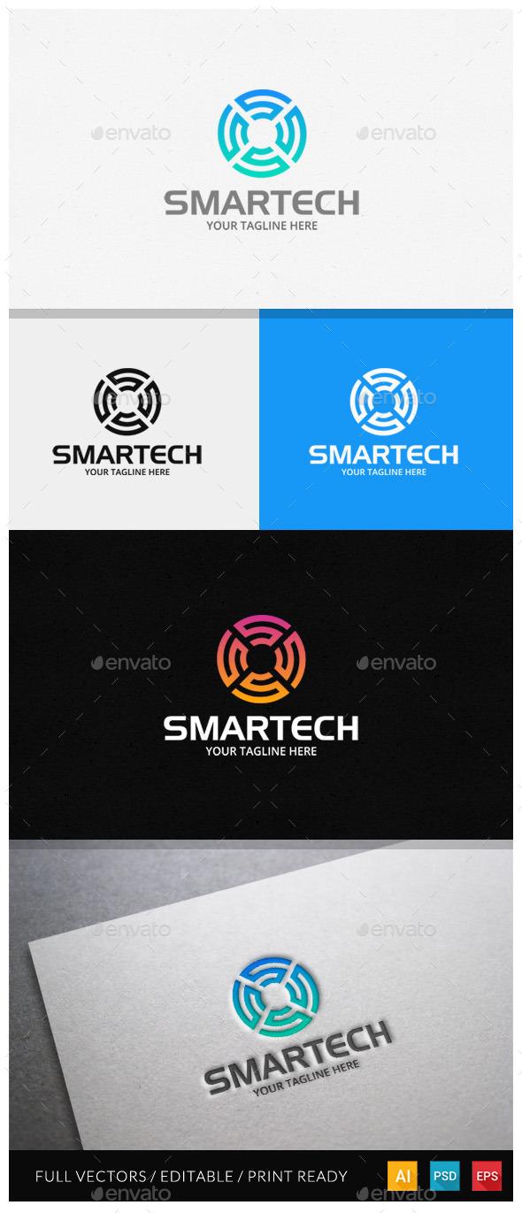 Smartech - Letter S Logo Template - Letters Logo Templates