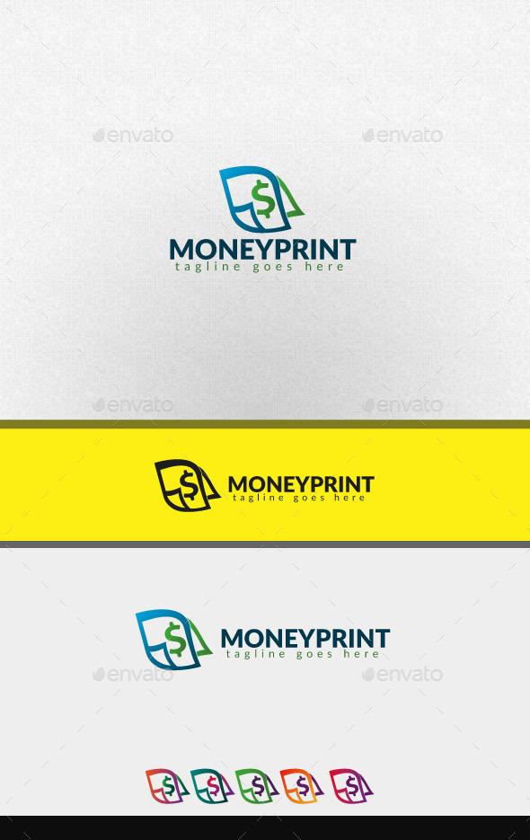moneyprint - Abstract Logo Templates