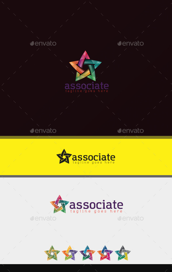 Associate Logo - Symbols Logo Templates