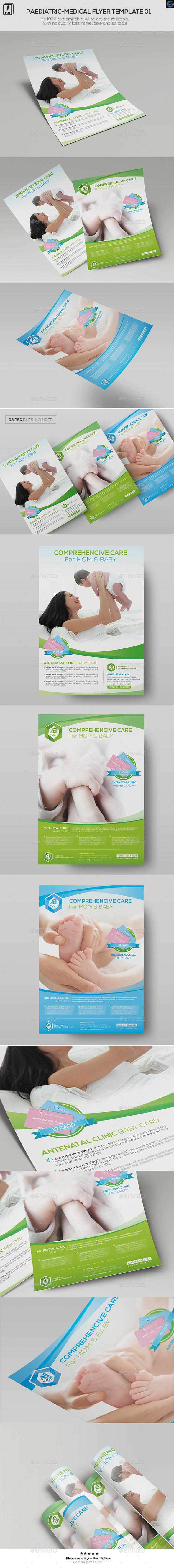 Paediatrics-Medical Flyer Template 01 - Corporate Flyers