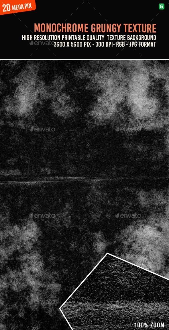 Monochrome Grungy Texture 115 - Industrial / Grunge Textures