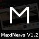 MaxiNews - Premium Review Magazine Theme Nulled
