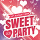 Sweet Sexy Party Flyer Template - GraphicRiver Item for Sale