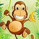 Monkey Banana Jump - HTML5 Android (CAPX)