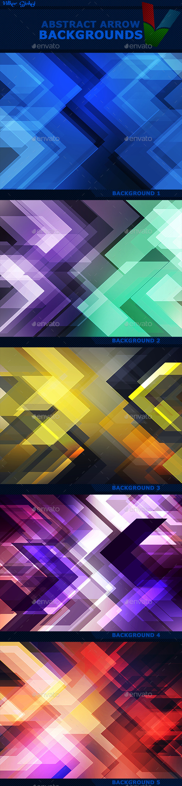 Abstract Arrow Backgrounds - Abstract Backgrounds