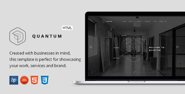 Quantum – Responsive Business HTML5 Template