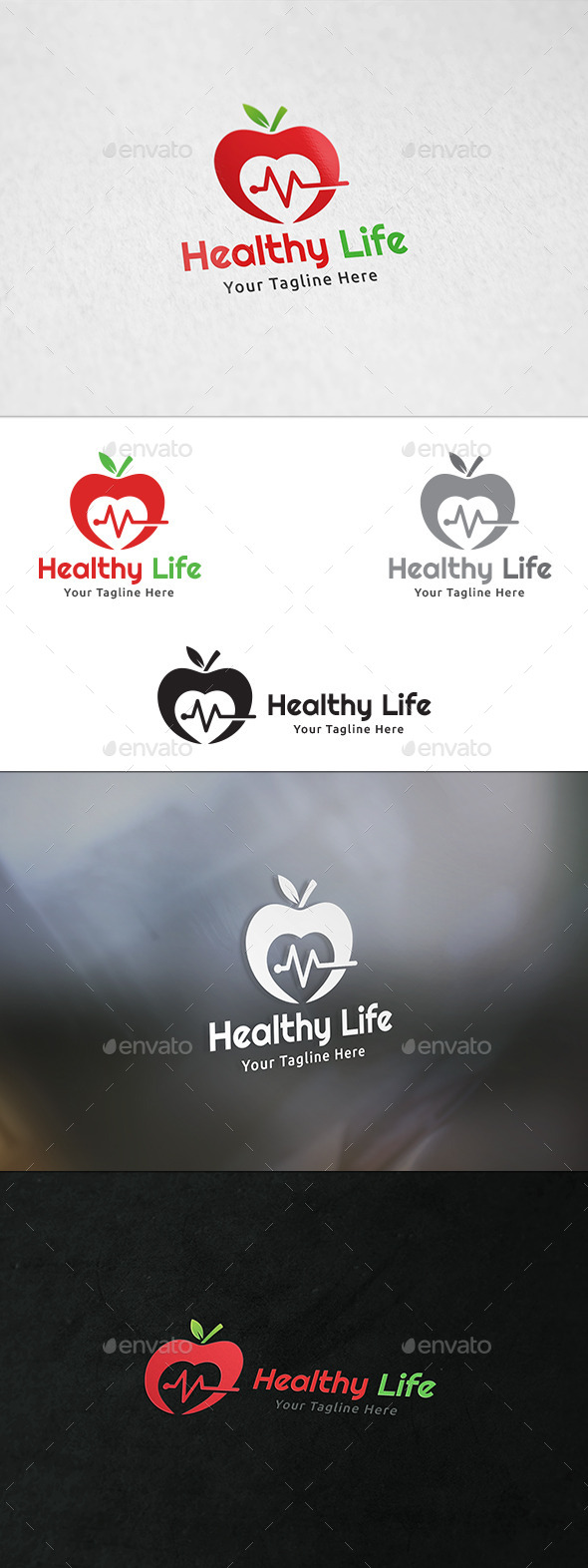 Healthy Life - Logo Template - Nature Logo Templates
