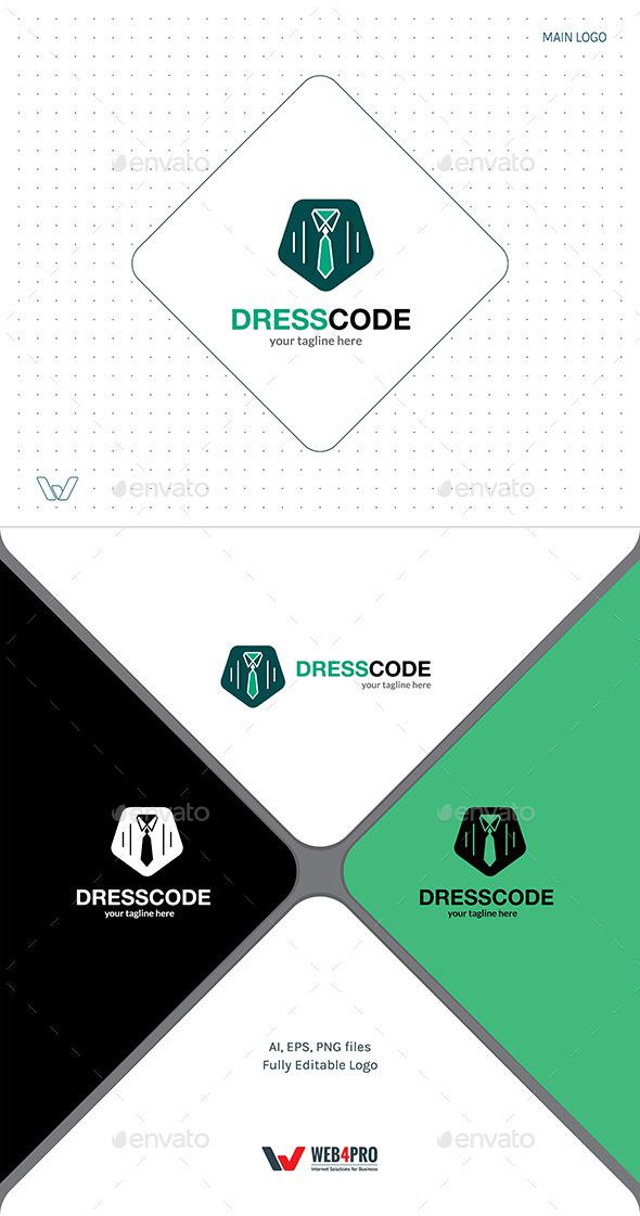 DressCode Logo - Objects Logo Templates