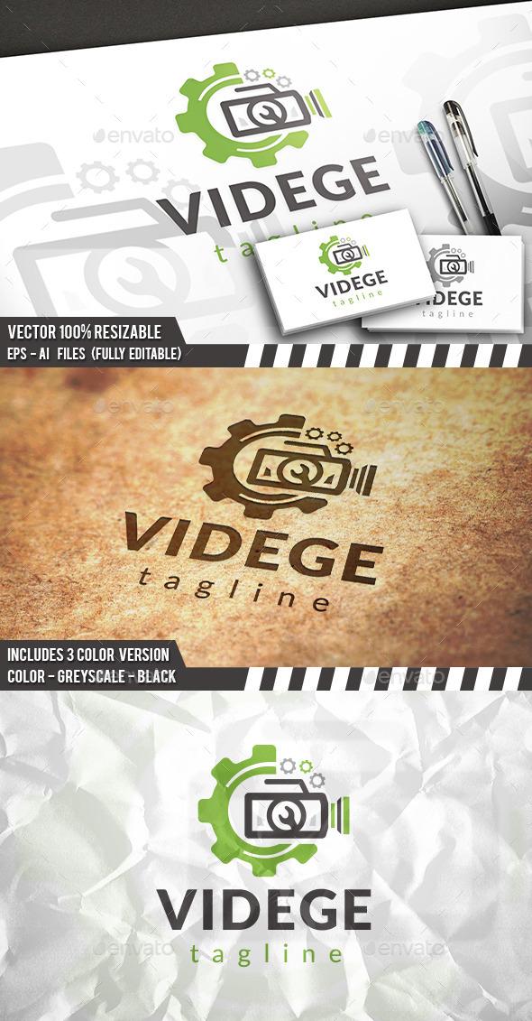 Video Gear Logo - Objects Logo Templates