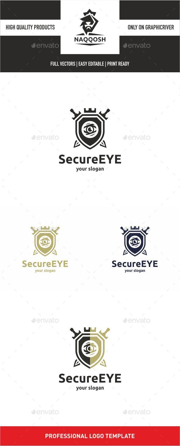 Secure Eye - Symbols Logo Templates