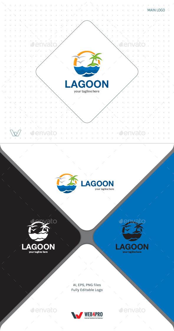 Lagoon Logo - Nature Logo Templates