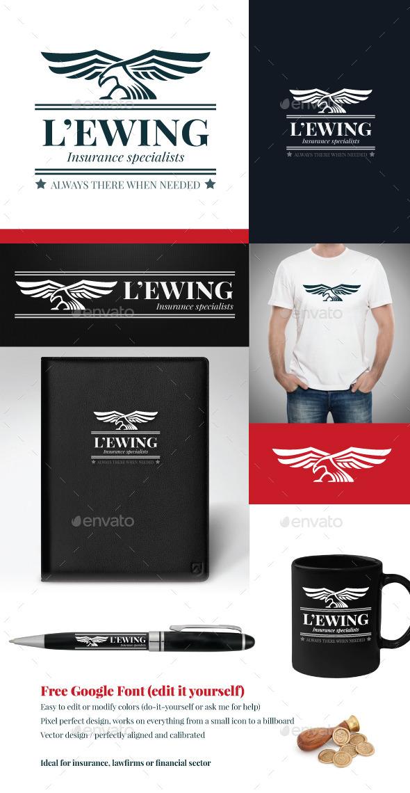 Eagle vector logo template - Animals Logo Templates