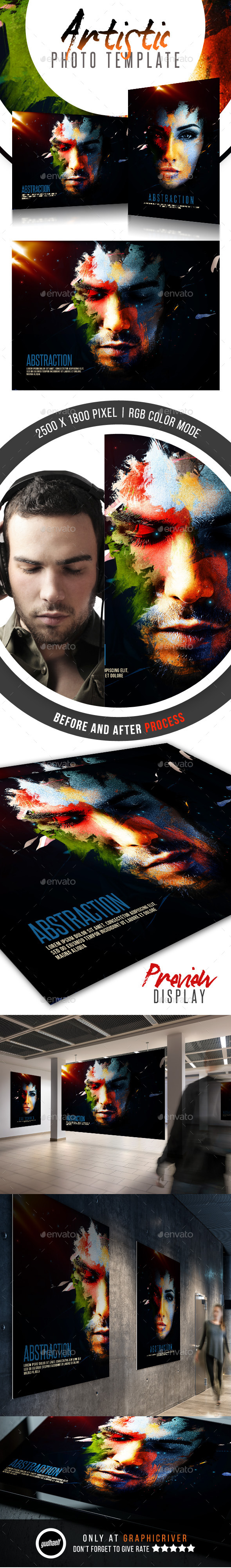 Abstraction - Artistic Photo Template - Artistic Photo Templates