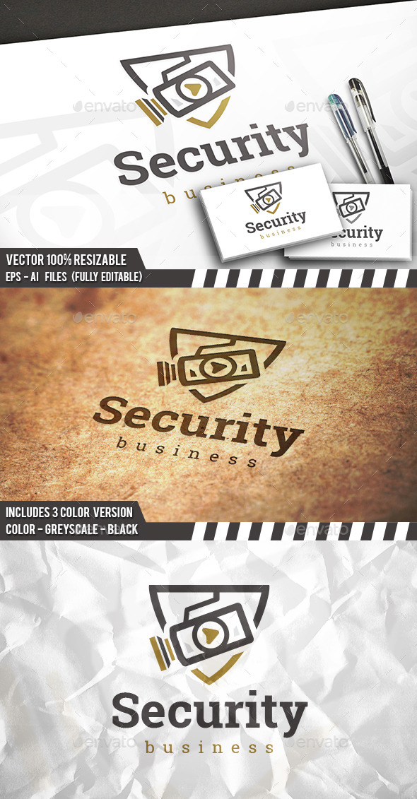 Security Camera Logo - Crests Logo Templates