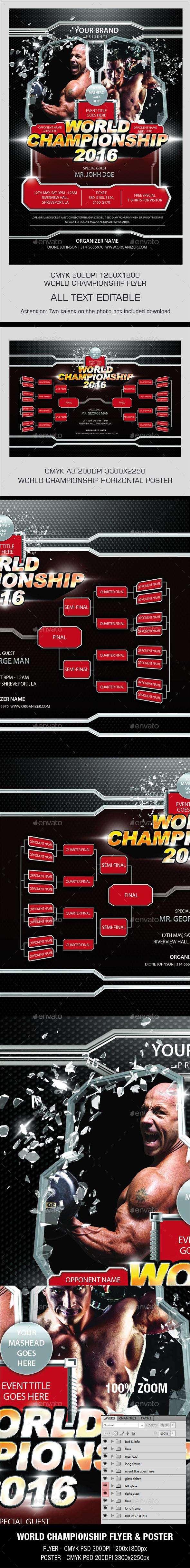 World Championship Flyer - Sports Events