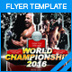 World Championship Flyer - GraphicRiver Item for Sale