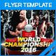 World Championship Flyer - GraphicRiver Item for Sale