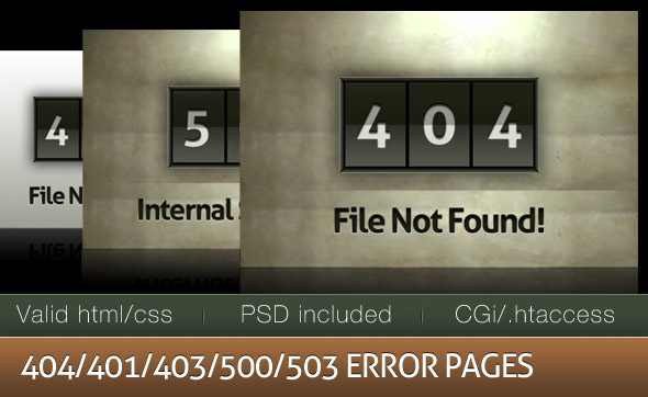 Free Download Stylish grunge custom error pages Nulled Latest Version