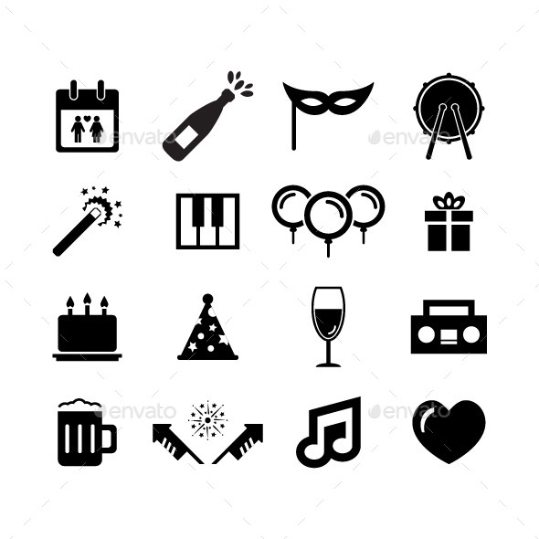 Celebration Icon - Miscellaneous Characters
