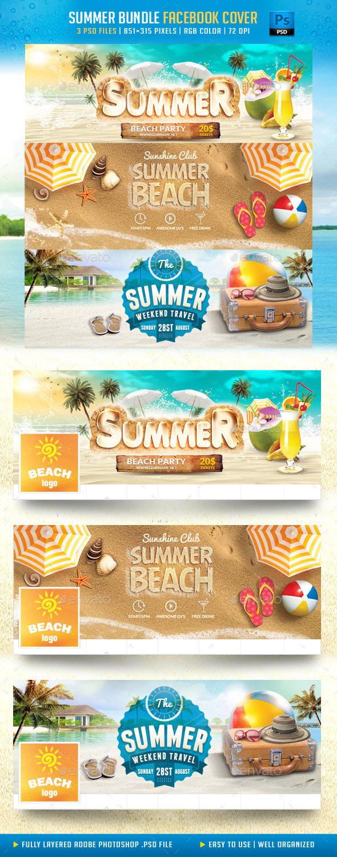Summer Bundle Facebook Cover - Facebook Timeline Covers Social Media