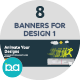 Flat Concept Banners for Design - GraphicRiver Item for Sale
