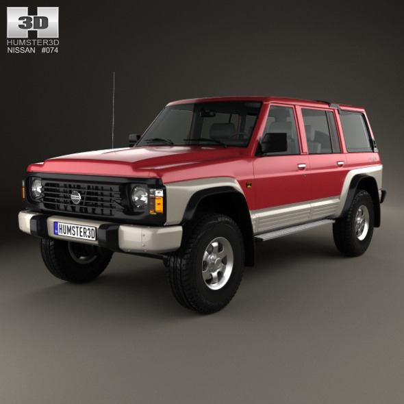 Nissan Patrol (Y60) 5-door 1987 - 3DOcean Item for Sale