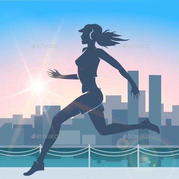 City Run - Sports/Activity Conceptual