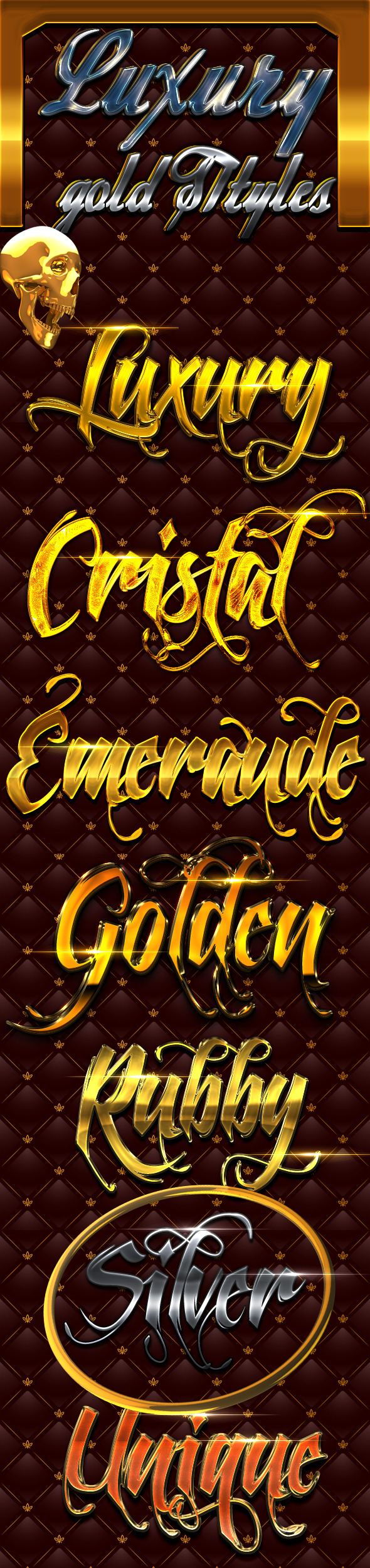 Luxury Gold Styles - Text Effects Styles