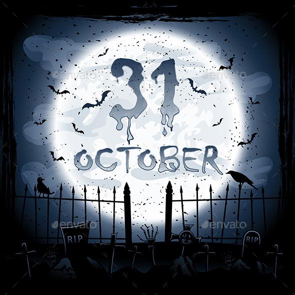 Halloween Scene - Halloween Seasons/Holidays