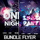 Bundle Flyer Club Party Vol.1 - GraphicRiver Item for Sale
