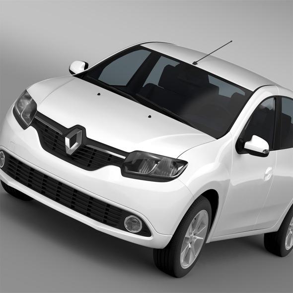 Renault Logan 2015 - 3DOcean Item for Sale