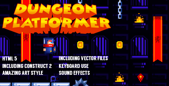 Dungeon Platformer - CodeCanyon Item for Sale