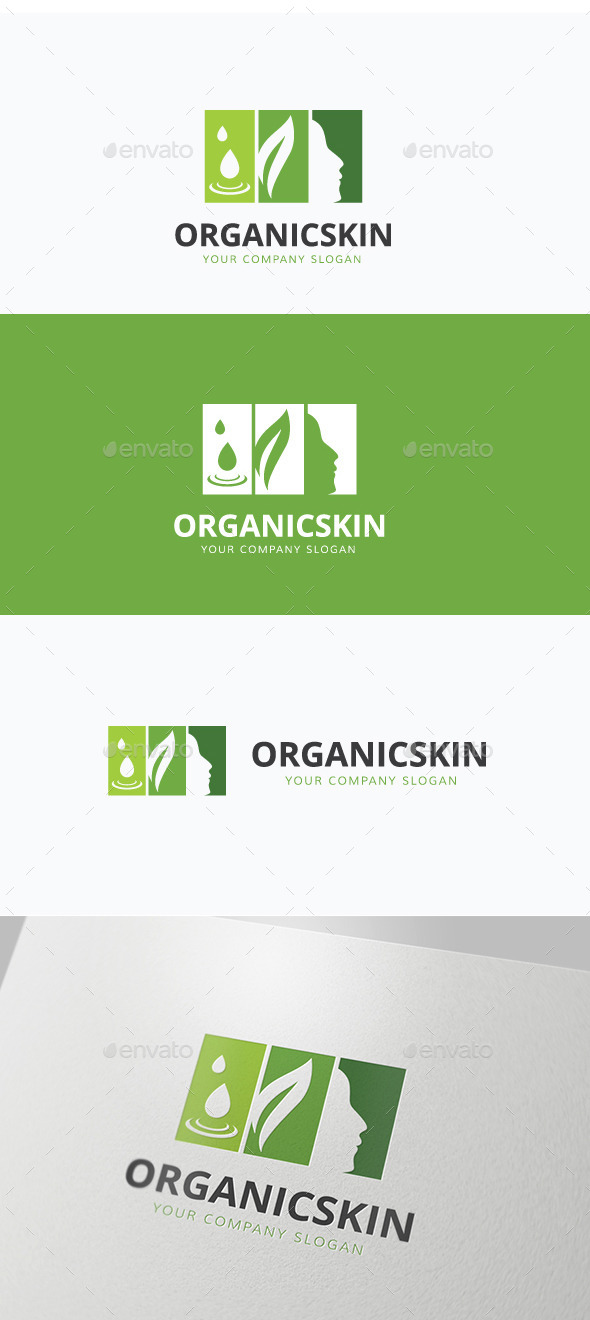 Organic Skin - Nature Logo Templates