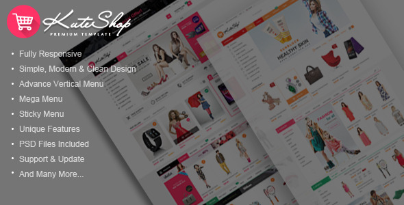 KuteShop – Multi-Purpose HTML Template