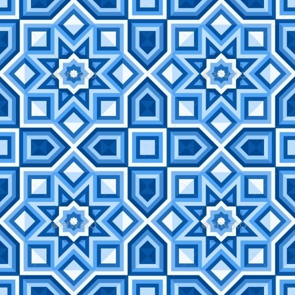 Floor Tiles - Vector Illustration - Patterns Decorative