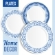 Set Of Decorative Plates. - GraphicRiver Item for Sale