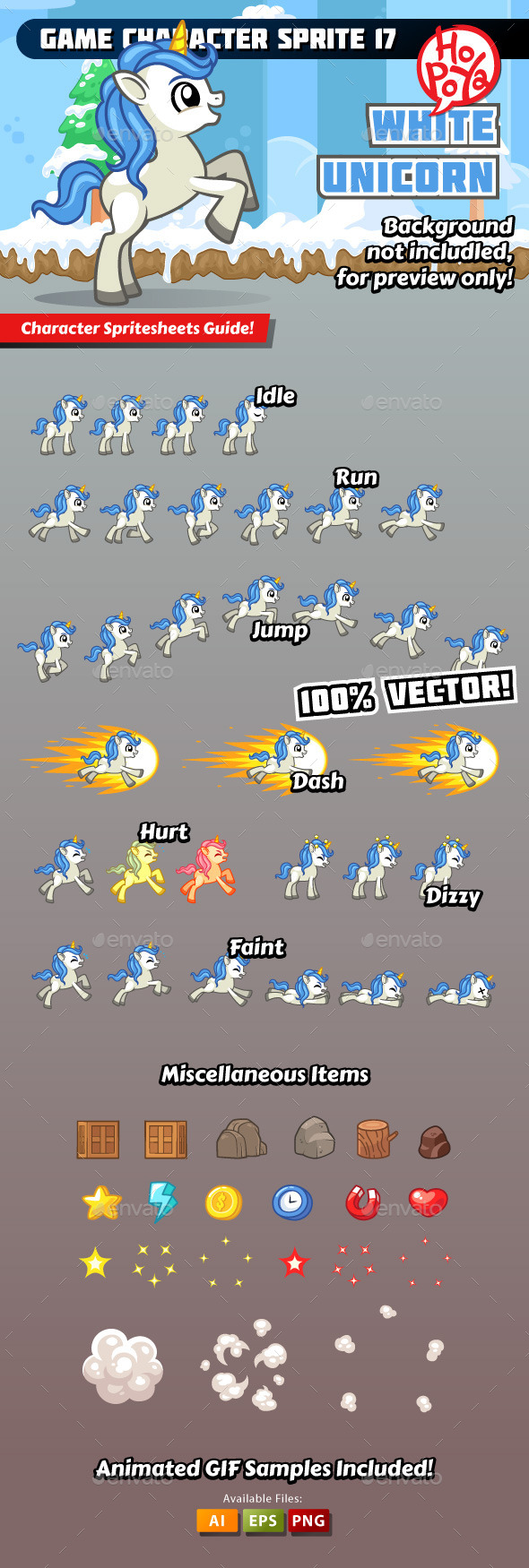 Game Character Sprite 17 - Sprites Game Assets